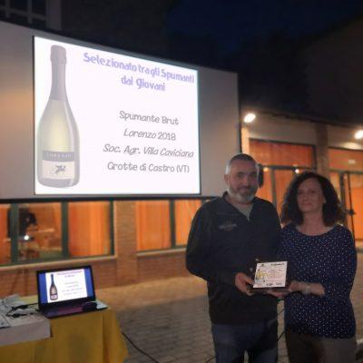 Spumante Brut Lorenzo 2018 Società Agricola Villa Caviciana, Grotte di Castro (VT)