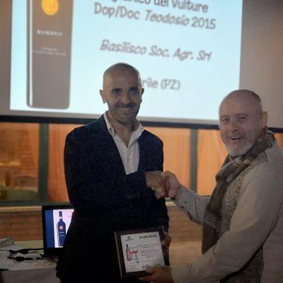 Aglianico del Vulture Dop/Doc Teodosio 2015 Basilisco Soc.Agr. Srl, Barile (PZ)